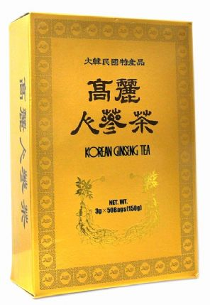 100% Authentic Korean Gold Instant Ginseng extract Tea 50 Sachets